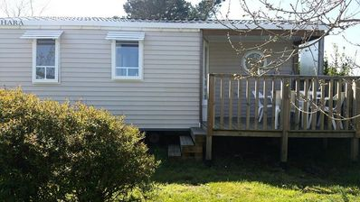 Photo for Camping Kerlaz *** - Mobile Home O'HARA 3 Rooms 4 People