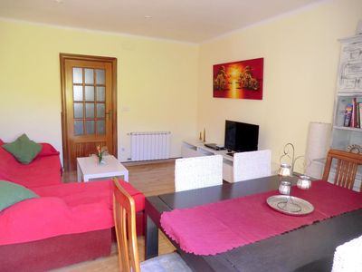 Photo for Very nice and bright apartment in Roses, only 500m from the beach.