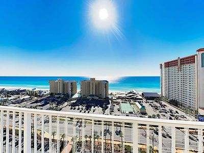 "Photo for ""Galilee Boat"" Beach condo! Ocean-view, 5 Pools resort, hot tubs & Private lake"