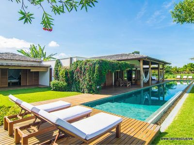 Photo for Bah006-Gorgeous beach villa with  pool in Trancoso