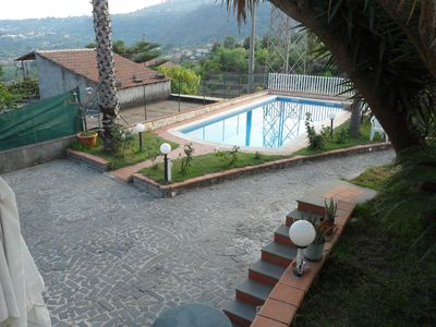 Photo for apartment in villa with swimming pool