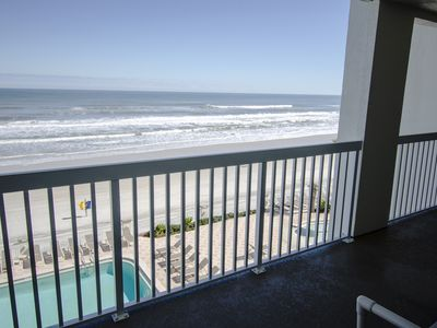 Photo for Daytona Beach Oceanfront with Indoor/Outdoor Pool