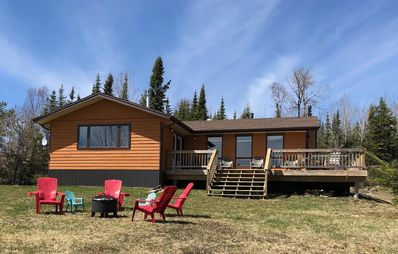 Photo for Gorgeous Waterfront Lake Superior Cottage With Sauna!