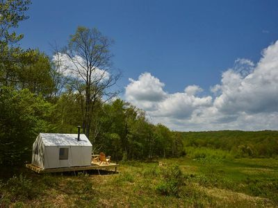 Photo for Tentrr - Camp Haven: Meadow Retreat
