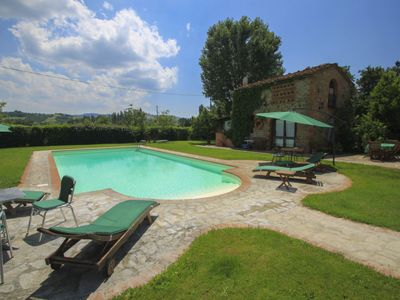Photo for One bedroom Villa, sleeps 4 in Casa Rossi with Pool and WiFi