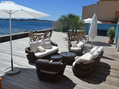 Photo for St Tropez Gulf, luxury villa, very close to the sea with Jaccuzi Ste Maxime