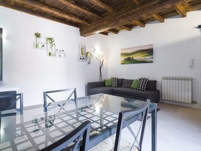 Photo for Fascinating apartment Navigli - furniture hall