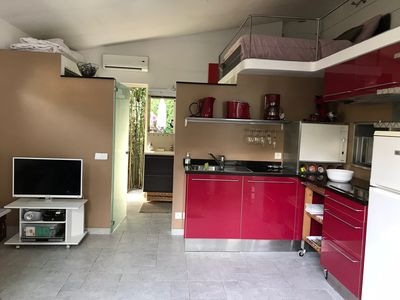 Photo for maisonette with garden, private terrace and BBQ area
