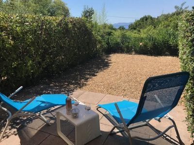 Photo for Apartment with small garden 200 m from the beach