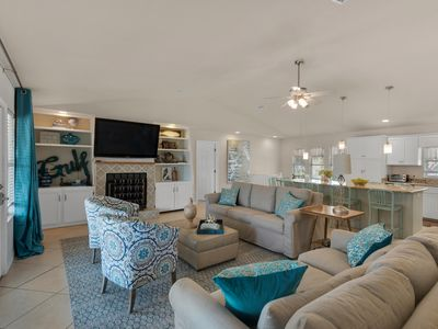 Photo for 3BR/2.5BA Affordable Beach House w/ Huge Private Pool! 50 Steps To Beach