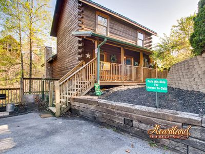 Photo for License To Chill Cabin is a perfect couples retreat or a family getaway!