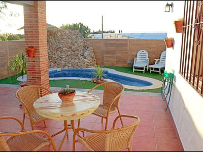 Photo for Cosy holiday home with private pool