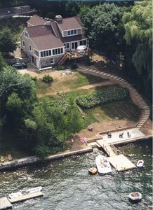 Photo for Candlewood Lake House With Dock, Deck. Family Room, Living Room, Eat- In Kitchen