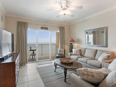 Photo for Gulf Front Immaculately Updated  2 BR Condo- Beautiful Gulf Views @ Amenities