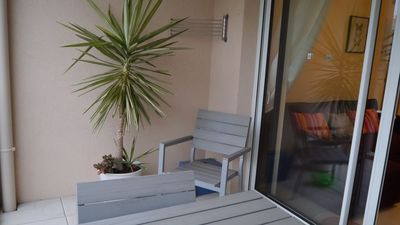 Photo for Juan les Pins, Villemorin area, 2 rooms close to shops and beaches