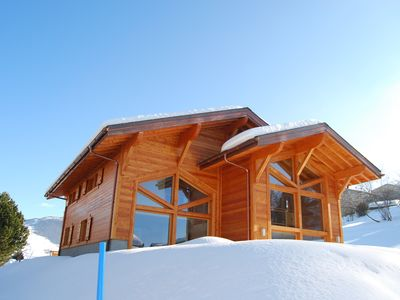 Photo for Chalet Pic Vert - Spacious - shuttle bus - jacuzzi
