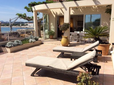 Photo for VILLA 5 persons, 100m from the sandy beach, La Seyne-sur-Mer, classified 4 *