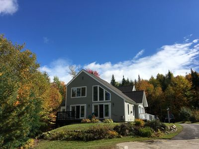 Large Modern Home with Beautiful Views in NH's White Mountains