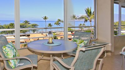 Photo for Spectacular ocean and beach view 2 BR condo, steps from the ocean!