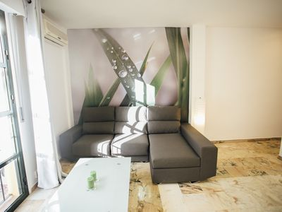 Photo for Spacious and bright apartment-Sevilla Centro