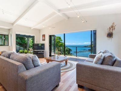 Photo for Beachfront Enclosure Bay -  4 Bedroom Home with the Beach on your Doorstep!