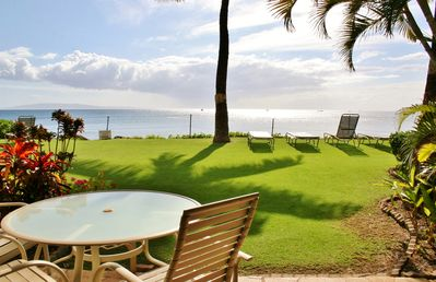 Photo for Renovated Ground Floor Steps to the Beach - Starts @ $189/nt - Kihei Beach #107