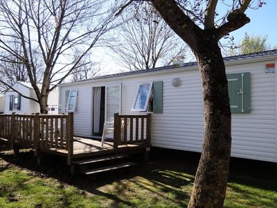Photo for Camping Les Pins *** - Mobile home Bermuda 4 Rooms 6 People