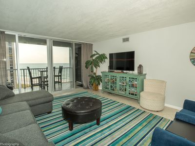 Photo for Shoreline Towers 2073- 2 BR with Great Gulf Views on the beach - Sleeps 6