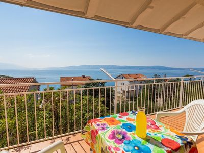 Photo for Holiday apartment with fantastic sea views