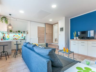 Photo for TOP Apartman: Minutes away from the heart of the town.