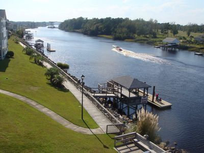 Photo for Breathtaking Waterway Views & Minutes to the Beach! Free Wifi! 2 Pools!