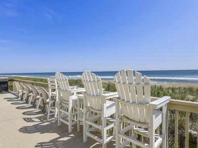 Photo for OCEANFRONT Kill Devil Hills AMAZING OCEAN VIEWS!  See, Smell, Hear the ocean!
