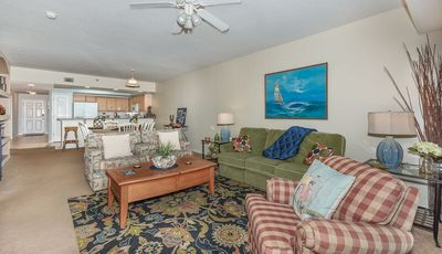 Photo for Enjoy beautiful sunsets and views of rocket launches from this 3 bed/2 bath condo. OW16-404