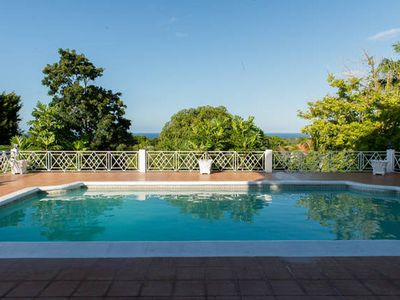 Photo for Charming 2 bedroom apartment with view of the Caribbean Sea along with 2 Studios