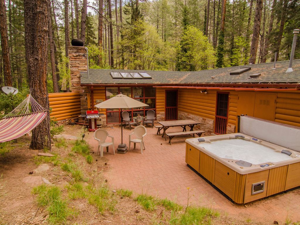 Property Image#19 Sit In The Hot Tub Under Towering Cliffs At Sedonau0027s  Cliffside Canyon