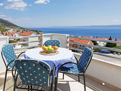 Photo for Fantastic sea view apt for 6★gallery★parking - Vespera 14