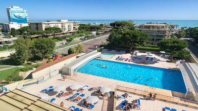Photo for Studio in luxury residence 3 * (pool and tennis) by the sea