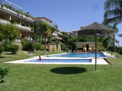 Photo for Great apartment in Cabopino, Marbella, short walk to safest and best beaches