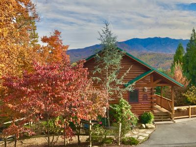 Photo for Undeniably Most Incredible Smokies Views! Loaded Amenities! H.Tub, H. Theatre!!