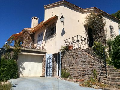 Photo for Family villa, quiet location, beautiful sea and mountain views, wide sandy beaches