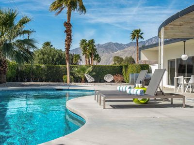 Photo for Iconic Mid-Century Modern Gem w/ New Saltwater Private Pool