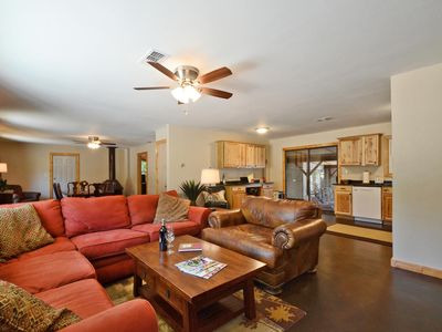 Photo for Newly Renovated  Country Home One Mile from the Wimberley Square.  Pet Friendly.