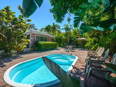 Photo for Sea Breeze Beach House - Private Pool, 3 Bdrs, 30 Seconds to the sand