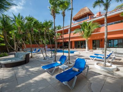 Photo for Casa Yardena 9 Bedroom - TOP RATED FAMILY VACATION BEACHFRONT TULUM