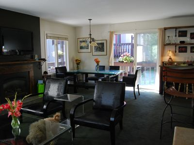 Photo for Superb 6 Month Minimum Vail Village 2 Bd condo Rental