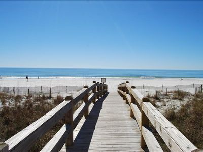 Photo for Three-Bedroom Gulf Front for 1BR Price! Spend Your Fall at the beach!