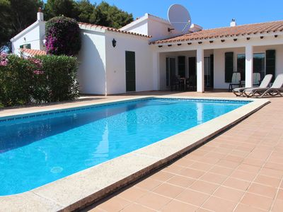 Photo for Quiet detached villa, private pool, short stroll to local shop, bars/restaurants