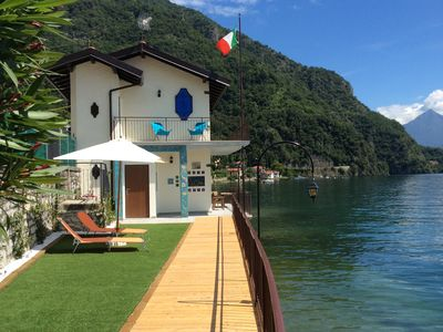 Photo for Villa Damia, Directly On The Lake