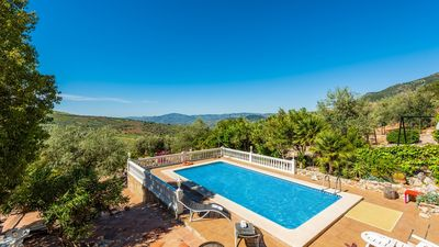 Photo for Spacious holiday home for groups, with tennis court and lovely views