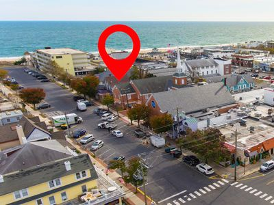 Photo for 18B Baltimore Avenue, 1/2 Blk to Beach and Boardwalk, Sleeps 6, In the Heart of Rehoboth Beach's Restaurant Row, Park & Relax, ** Includes Sheets & Towels in 2020 **